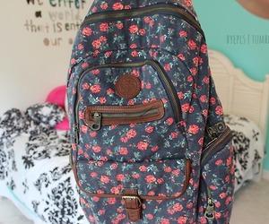backpack, tumblr, and bag image