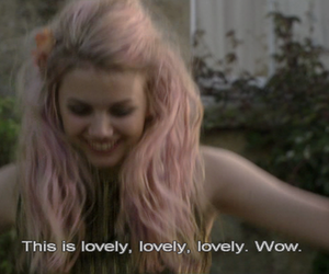 cassie, hannah murray, and vintage image