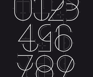 design, font, and geometry image