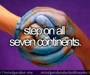 continents, dreams, and travel image