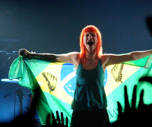 hayley williams, paramore, and brazil image