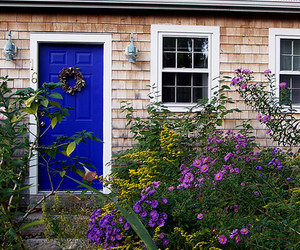garden, house, and pretty image