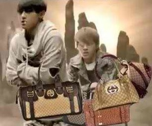 exo, gucci, and kris image