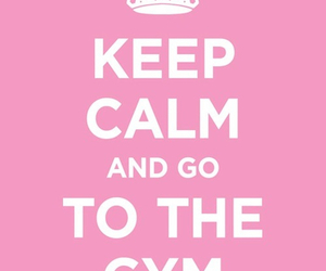 gym, fitness, and keep calm image