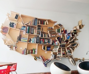 book, usa, and room image