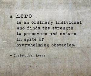 endurance, hero, and obstacles image