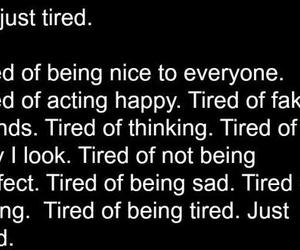 tired, cutting, and depressed image