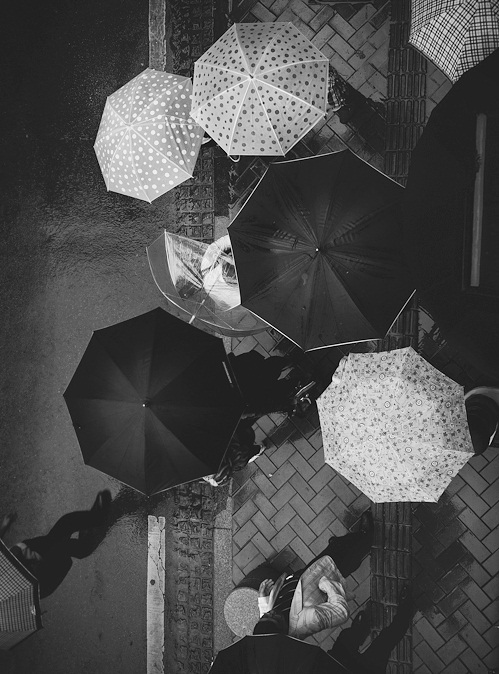 black and white, city, and storm image