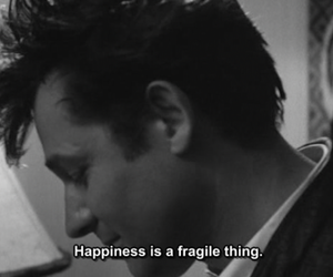 happiness, fragile, and quote image