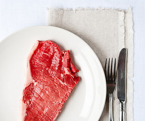 beef, food, and fork image
