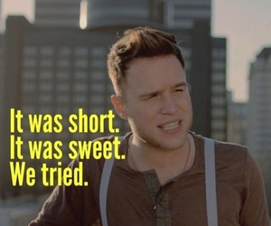 Lyrics, Relationship, and olly murs image