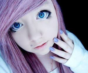 creep, purple hair, and site model image