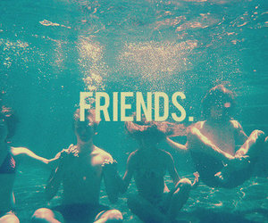 friends, water, and summer image