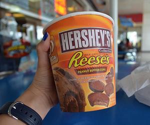 hershey's, yum, and chocolate image