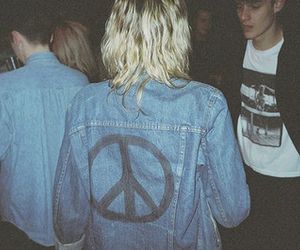 peace, indie, and hipster image