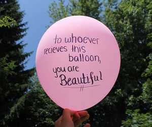 balloon, quote, and tumblr image