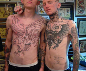 tattoo, frank carter, and Tattoos image