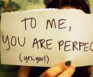 you, perfect, and love image