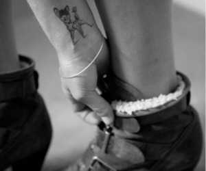 bambi, tattoo, and boots image