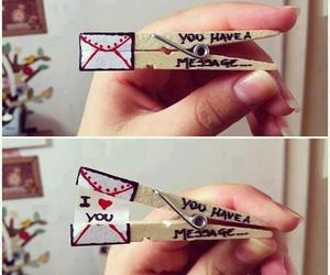 love, message, and I Love You image