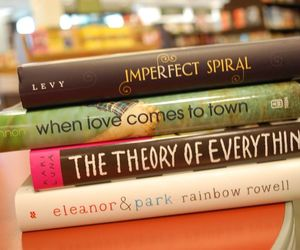 books, eleanor & park, and the theory of everything image