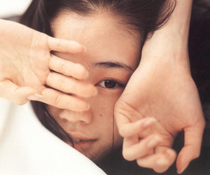 beautiful girl, hands, and asian image