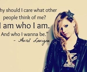 Avril Lavigne, quote, and Avril image