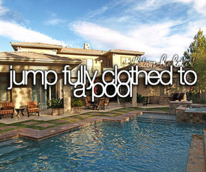 pool, before i die, and clothes image