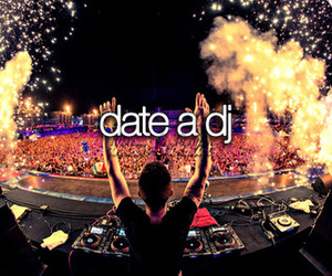 dj, date, and music image