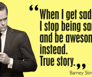 Barney Stinson, awesome, and quote image