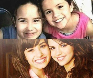 selena gomez, demi lovato, and demi image