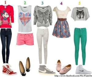 clothes, clothing, and shoes image