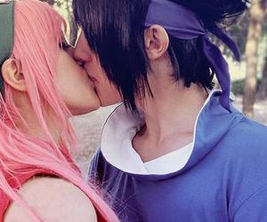 sasuke, sakura, and cosplay image