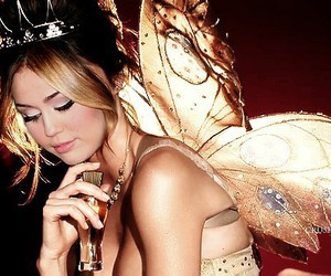 crown, miley cyrus, and butterfly image