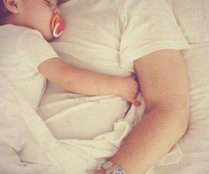 baby, daddy, and love image