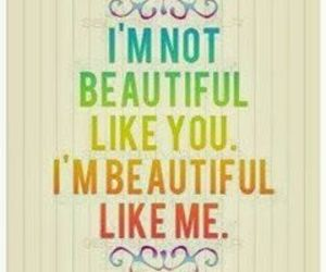 beautiful, quotes, and me image