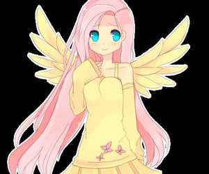 anime, fluttershy, and cute image