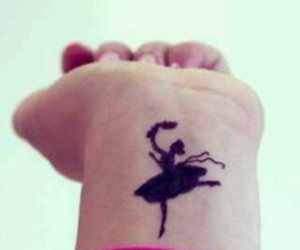 ballet, dance, and tattos image