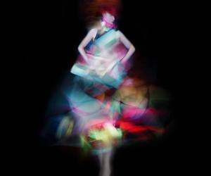 art, fashion, and blur image