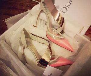 heels, shoes, and dior image