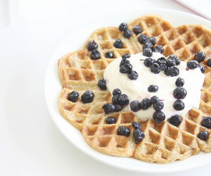 breakfast, blueberries, and delicious image