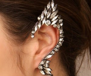 beautiful, fashion, and ear cuff image