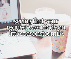 little reasons to smile and girly stuff. image