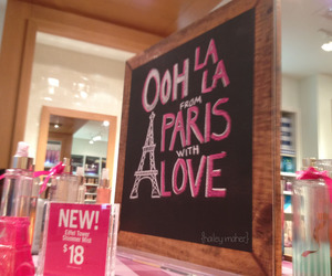 bath and body works and paris amore image