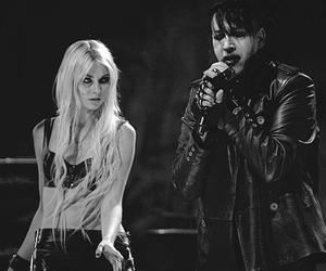 Taylor Momsen, Marilyn Manson, and the pretty reckless image