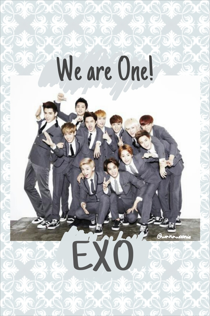 Simple exo wallpaper for android phone and I phone .