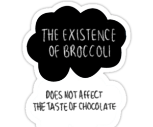 broccoli, chocolate, and the fault in our stars image