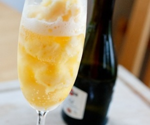 mimosa and champagne image