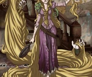 blonde, dessin, and princesse image