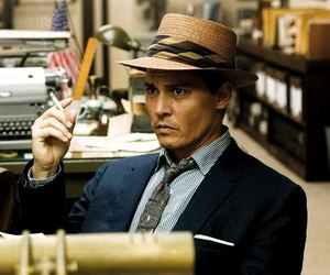 johnny depp, the rum diary, and love image